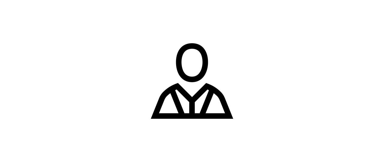 """user staff"" icon"