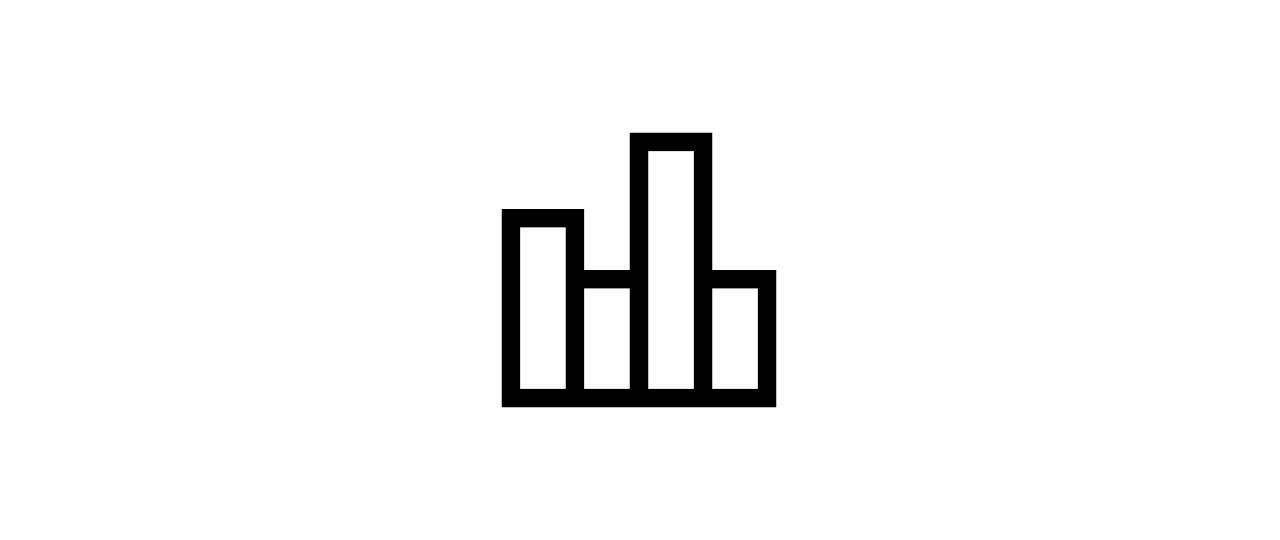 """liquidity bar-chart"" icon"