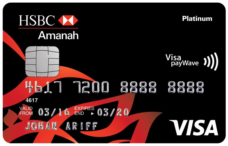 Picture of Amanah Visa Platinum card