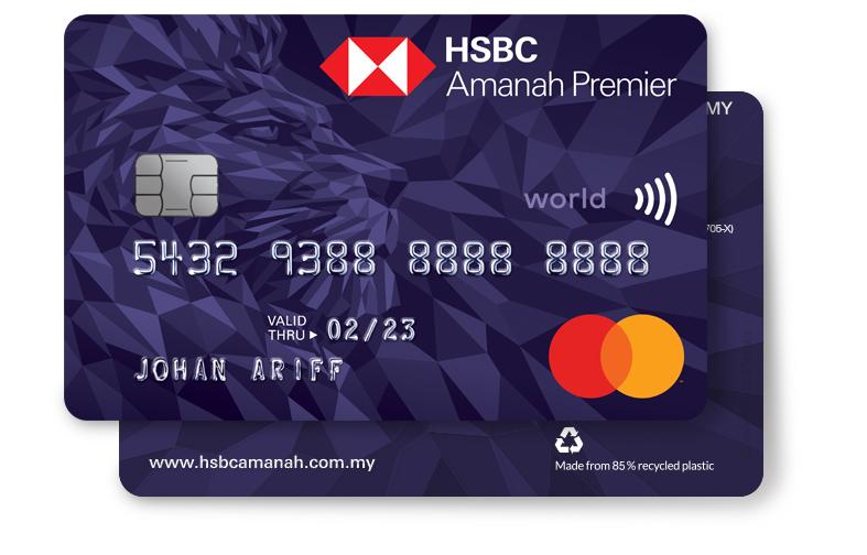 HSBC Amanah Premier World Mastercard Credit card-i