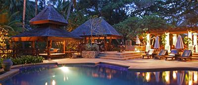resort scene; image used for Tanjong Jara Resort of HSBC Get 10% + 10% Cashback Campaign