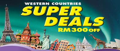 poster of super deals; image used for Apple West of HSBC Get 10% + 10% Cashback Campaign