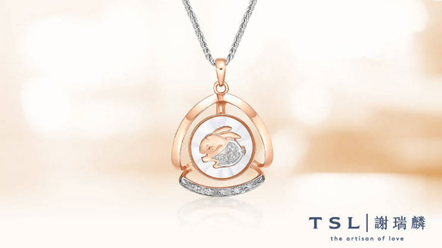 TSL necklace; image used for Tse Sui Luen Jewellery promotion page.