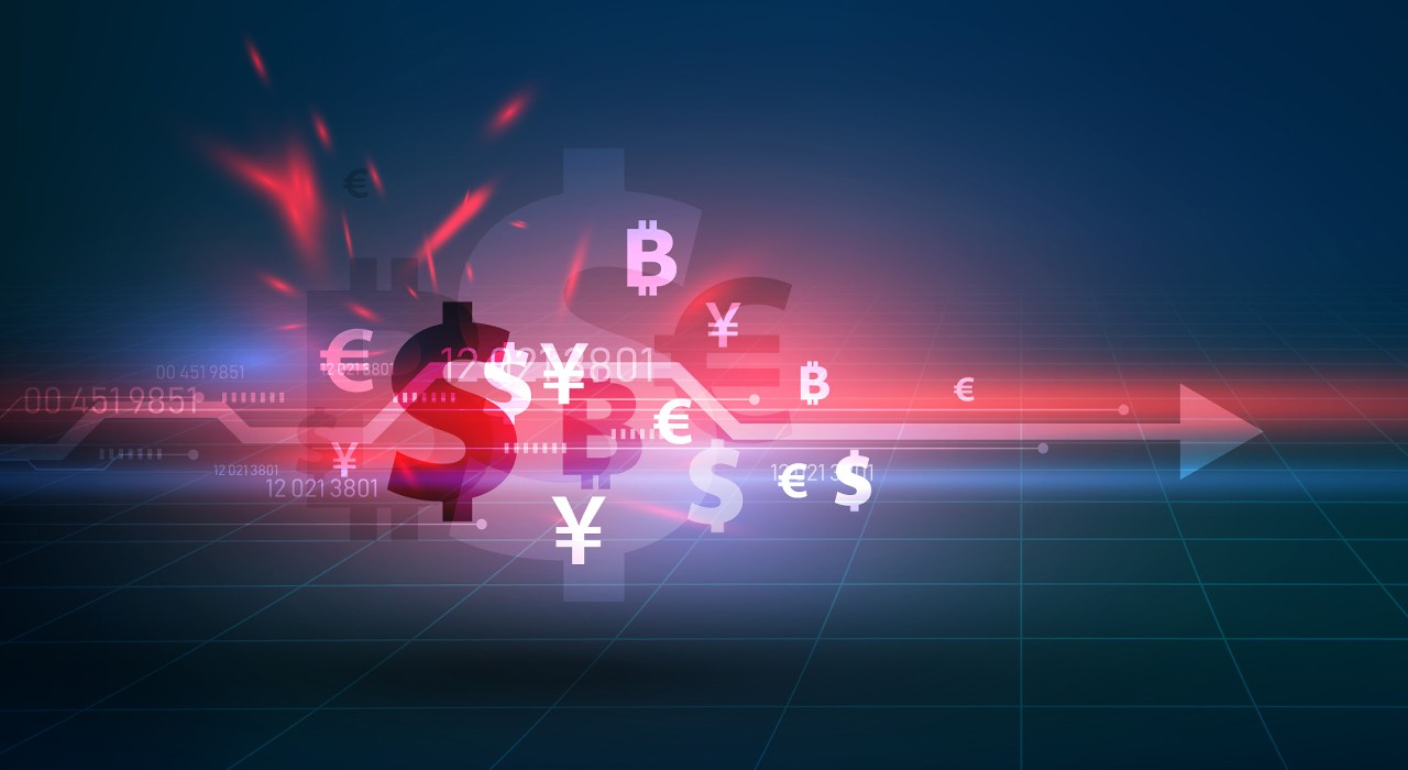 Different currency symbols; image used for HSBC Malaysia Liquid Foreign Exchange Explained article