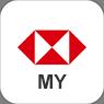 Icon of HSBC Malaysia Mobile Banking app.