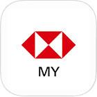HSBC Malaysia mobile banking app icon